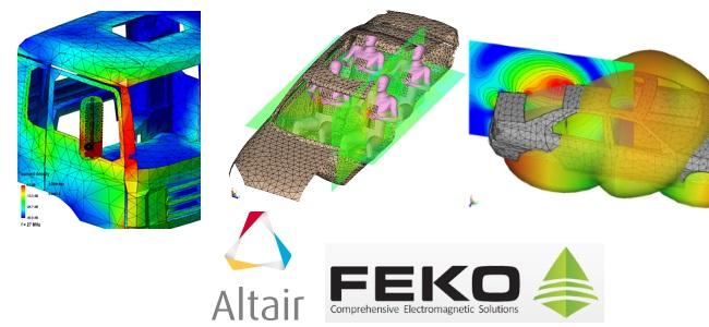 Altair FEKO - Otomotiv Uygulamaları