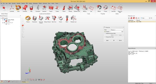 ALTAIR SimLab 14.0 - Feature tabanlı ve proses odaklı sonlu elemanlar modelleme yazılımı