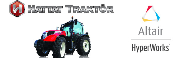 HATTAT Traktör  Ar-Ge bölümü ALTAIR HyperWorks yazılımlarını tercih etti