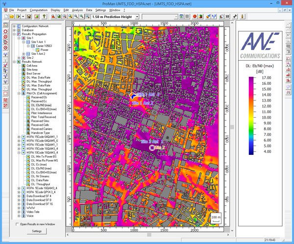 ALTAIR WinProp - Dalga yayılımı ve network planlama yazılım paketi