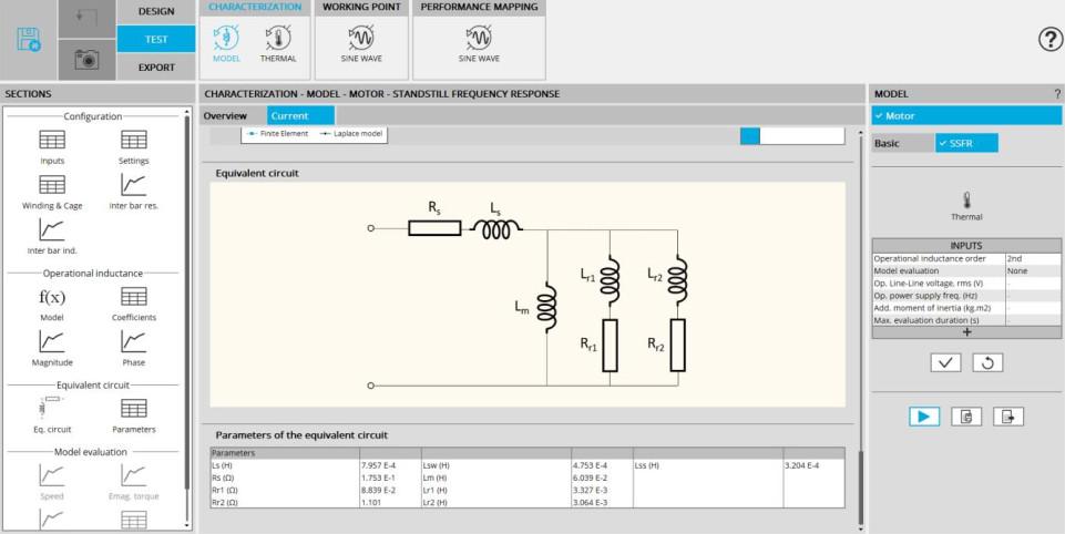 Altair FluxMotor indüksiyon makinesi şema