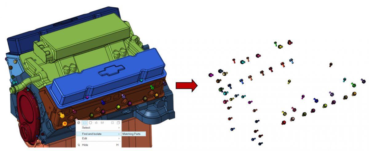 HyperWorks CFD eşleşen parça tespiti
