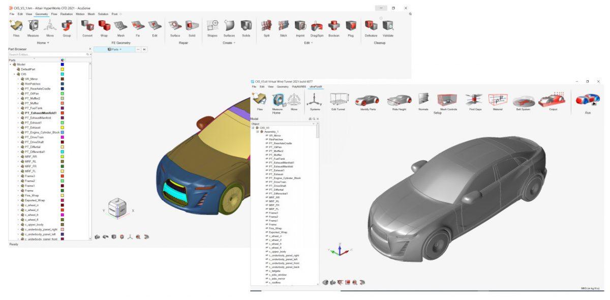 HyperWorks CFD den VWT yazılımna dosya aktarımı