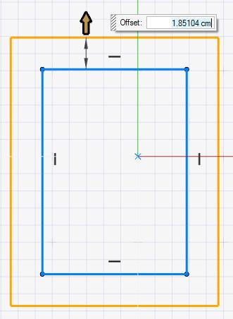 Eskiz paneli yeni öteleme aracı - Altair Inspire Studio