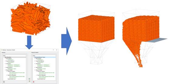EDEM Block Factory polihedral parçaçık