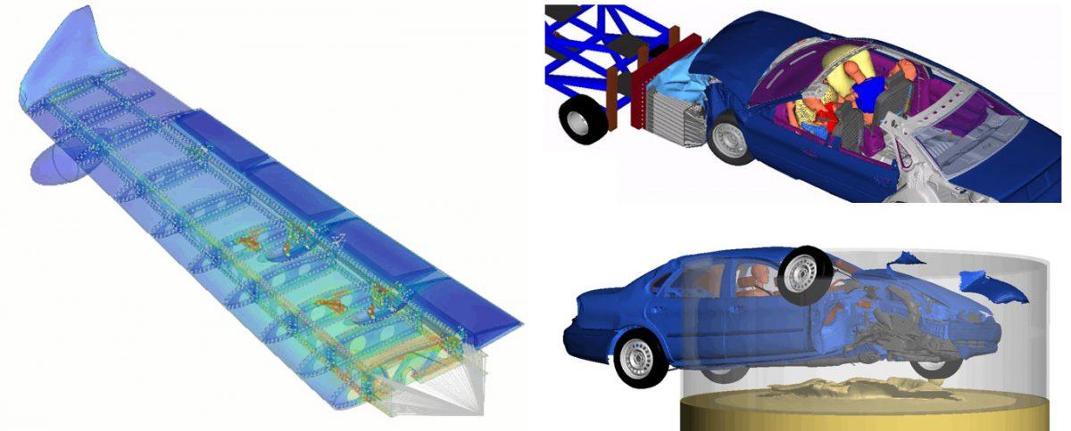 Altair OptiStruct ve Radioss uygulama örnekleri