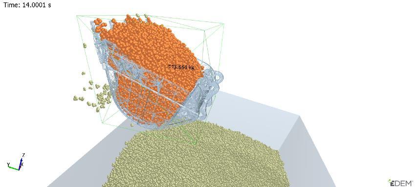 Altair EDEM - MotionSolve eş zamanlı simülasyon