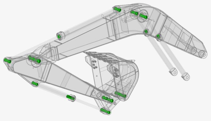 Altair Inspire Motion mafsalların otomatik algılanması