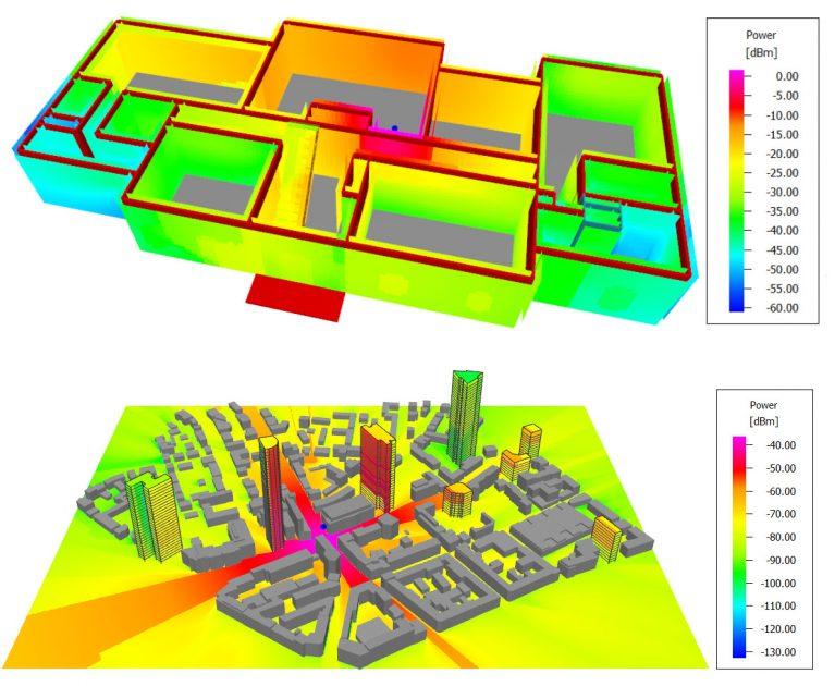 Winprop kentsel ve iç mekan yayılım analizi