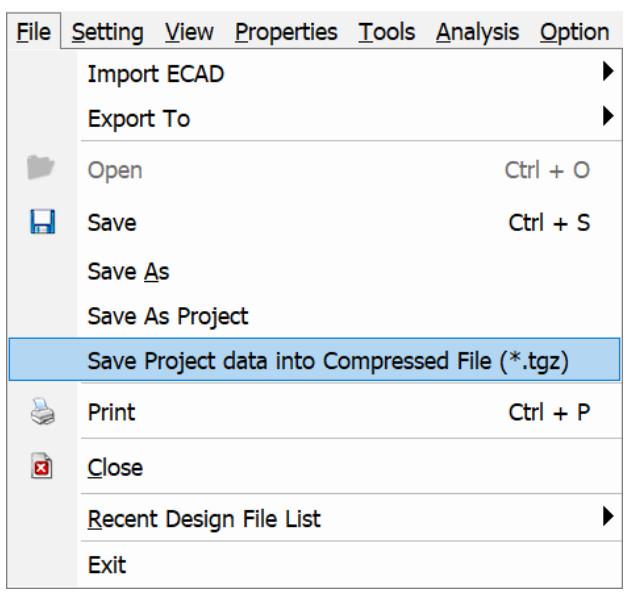 Altair PollEx PCB 2021.1 tasarım verisi zıkıştırılmış format